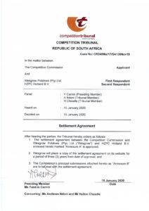 Settlement Agreement CR249Mar17 - SA130Nov19 - Settlement Agreement CR249Mar17 SA130Nov19 pdf 212x300